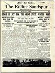 Sandspur, Vol. 22 No. 24, April 29, 1921. by Rollins College
