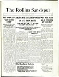 Sandspur, Vol. 22 No. 25, May 14, 1921 by Rollins College