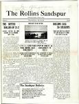 Sandspur, Vol. 22 No. 26, May 28, 1921.