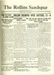 Sandspur, Vol. 23 No. 03, October 28, 1921. by Rollins College