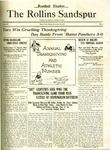 Sandspur, Vol. 23 No. 06, November 30, 1921. by Rollins College