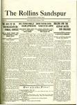 Sandspur, Vol. 23 No. 07, December 9, 1921. by Rollins College