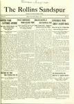 Sandspur, Vol. 23 No. 15, March 4, 1922.