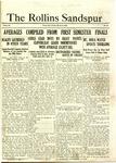 Sandspur, Vol. 23 No. 16, March 14, 1922. by Rollins College