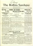 Sandspur, Vol. 23 No. 20, April 24, 1922. by Rollins College