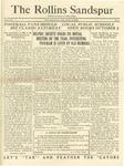 Sandspur, Vol. 24 No. 02, October 13, 1922. by Rollins College