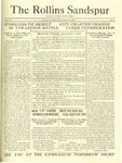 Sandspur, Vol. 24 No. 05, November 3, 1922.