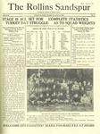 Sandspur, Vol. 24 No. 09, November 30, 1922. by Rollins College