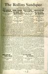 Sandspur, Vol. 25 No. 02, October 3, 1923.