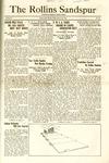 Sandspur, Vol. 25 No. 25, March 29, 1924 by Rollins College