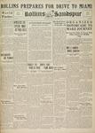Sandspur, Vol. 38 No. 08, November 15, 1933 by Rollins College