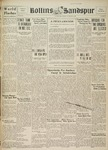 Sandspur, Vol. 38 No. 10, November 29, 1933 by Rollins College