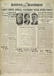 Sandspur, Vol. 38 No. 21, February 21, 1934 by Rollins College