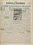 Sandspur, Vol. 43 No. 04, October 20, 1937