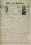Sandspur, Vol. 45 No. 16, February 7, 1940 by Rollins College