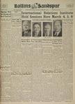 Sandspur, Vol. 45 No. 19, February 28, 1940