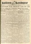 Sandspur, Vol. 49 No. 03, October 27, 1943 by Rollins College