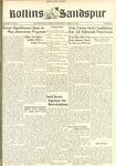 Sandspur, Vol. 49 No. 21, April 12, 1944 by Rollins College