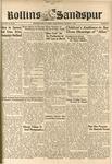 Sandspur, Vol. 50 (1944) No. 17, March 7, 1945 by Rollins College