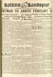 Sandspur, Vol. 50 (1945) No. 13, January 31, 1946