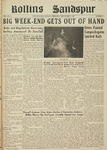 Sandspur, Vol. 52 No. 06, November 6, 1947 by Rollins College