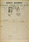 Sandspur, Vol. 53 No. 01, October 15. 1948 by Rollins College