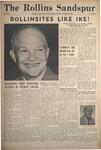 Sandspur, Vol. 57 No. 05, October 30, 1952