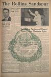 Sandspur, Vol. 57 No. 11, December 18, 1952. by Rollins College