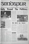 Sandspur, Vol. 75 No. 05, October 25, 1968 by Rollins College