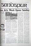 Sandspur, Vol. 75 No. 15, February 14, 1969 by Rollins College