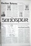 Sandspur, Vol. 75 No. 22, April 18, 1969 by Rollins College