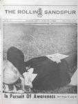 Sandspur, Vol. 76 No. 07, November 14, 1969 by Rollins College