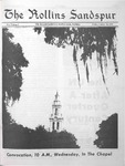 Sandspur, Vol. 77 No. 06, October 30, 1970 by Rollins College