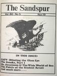 Sandspur, Vol. 80 No. 05, November 19, 1973 by Rollins College