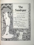 Sandspur, Vol. 80 No. 08, January 22, 1974