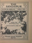 Sandspur, Vol. 80 No. 12 Parent-Alumni Weekend Special, April 01, 1974 by Rollins College