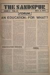 Sandspur, Vol. 81 No. 04, October 11, 1974 by Rollins College