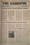 Sandspur, Vol. 81 No. 09, November 15, 1974 by Rollins College