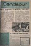 Sandspur, Vol. 87 No. 05, November 16, 1979