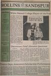 Sandspur, Vol. 87 No. 05, October 10, 1980 by Rollins College