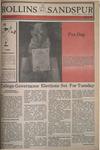 Sandspur, Vol. 87 No. 22, April 20, 1981 by Rollins College