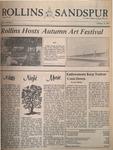 Sandspur, Vol. 88 No. 06, October 16, 1981 by Rollins College