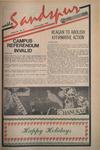 Sandspur, Vol 92 No 14, December 10, 1985 by Rollins College