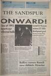 Sandspur, Vol 99 No 01, June 10, 1992 by Rollins College