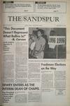 Sandspur, Vol 99, No 05, September 16, 1992