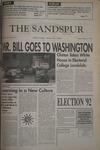 Sandspur, Vol 99 No 12, November 4 1992