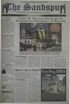 Sandspur, Vol 111, No 23, April 15, 2005