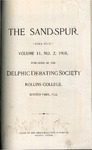 Sandspur, Vol. 11, No. 02, 1905.
