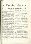 Sandspur, Vol. 01, No. 01, December 20, 1894
