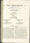 Sandspur, Vol. 01, No. 02, March 18, 1895